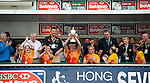 England Team won the Cup during the Women Final on Day 2 of the 2012 Cathay Pacific / HSBC Hong Kong Sevens at the Hong Kong Stadium in Hong Kong, China on 24th March 2012. Photo © Manuel Queimadelos / The Power of Sport Images