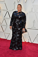 LOS ANGELES, CA. February 24, 2019: Queen Latifah at the 91st Academy Awards at the Dolby Theatre.<br /> Picture: Paul Smith/Featureflash