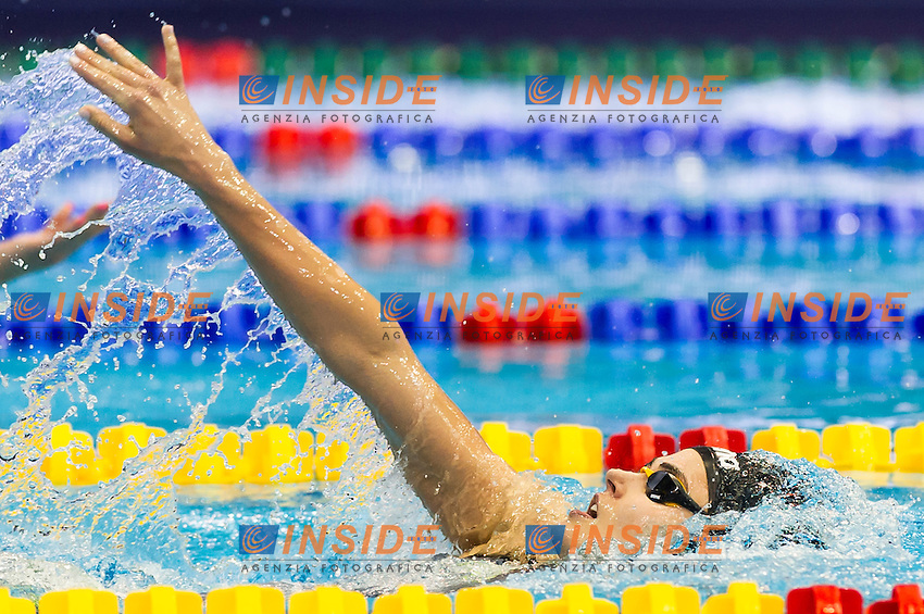 JAKABOS Zsuzsanna HUN<br /> Women's 400m medley heats<br /> Netanya, Israel, Wingate Institute<br /> LEN European Short Course Swimming Championships  Dec. 2 - 6, 2015 Day01 Dec. 2nd<br /> Nuoto Campionati Europei di nuoto in vasca corta<br /> Photo Giorgio Perottino/Deepbluemedia/Insidefoto
