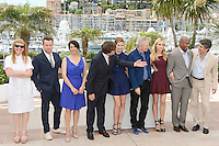 Andrea Arnold, Ewan Mc Gregor, Hiam Abbass, Nanni Moretti,  Emmanuelle Devos, Jean-Paul Gaultier, Diane Kruger, Raoul Peck and Alexander Payne attending the Jury Photocall during the 65th annual International Cannes Film Festival in Cannes, France, 16.05.2012...Credit: Timm/face to face /MediaPunch Inc. ***FOR USA ONLY***