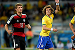 David Luiz (BRA),<br /> JULY 8, 2014 - Football / Soccer : FIFA World Cup 2014 semi-finals match between Brazil 1-7 Germany at Mineirao stadium in Belo Horizonte, Brazil.<br /> (Photo by FAR EAST PRESS/AFLO)