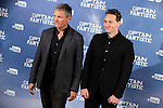 "American actor Viggo Mortensen and the director of the film, Matt Ross attends to the presentation of the film ""Captain Fantastic"" at Ursa Hotel in Madrid. September 11, Spain. 2016. (ALTERPHOTOS/BorjaB.Hojas)"