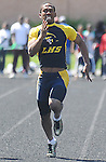 The Gazette Laurel High School's L'Zekia Chapman runs the 100 meter dash placing third during the Prince George's County Outdoor Track and Field Championship at Dr. Henry A. Wise, Jr. High School in Upper Marlboro on Saturday afternoon. He also placed second in the 200 meter dash.