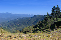 The hills of the Ixil Triangle.