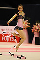 Runa Yamaguchi (JPN), .OCTOBER 29, 2011 - Rhythmic Gymnastics : .AEON CUP 2011 Worldwide R.G. Club Championships .Ribbon .at Tokyo Metropolitan Gymnasium, Tokyo, Japan. .(Photo by YUTAKA/AFLO SPORT) [1040]