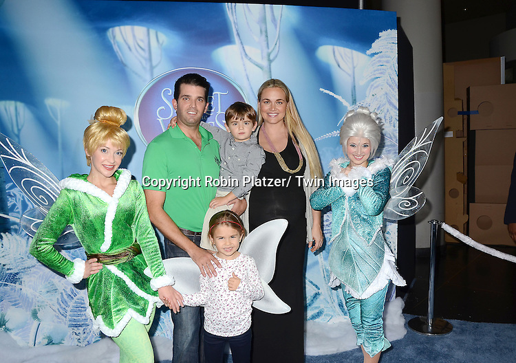 "Donald Trump, Jr and son Donnie, daughter Kai and wife Vanessa attends the Premiere of ""Secrets of the Wings"" on October 20, 2012 at The AMC Loews Lincoln Square in New York City. The Disney 3-D movie stars the voices of Anjelica Huston, Mae Whitman, Timothy Dalton, Raven -Symone and Matt Lanter. The movie will be released on Tuesday on DVD and Blu Ray."