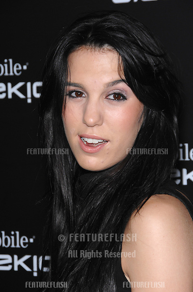 CHRISTY CARLSON ROMANO at party in Beverly Hills to launch the new limited edition T-Mobile Sidekick 3 designs..October 12, 2006  Los Angeles, CA.Picture: Paul Smith / Featureflash