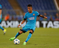 Barcellona's Neymar during the Champions League Group E soccer match   at the Olympic Stadium in Rome September 16, 2015