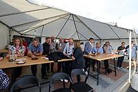 Corporate hospitality during the Pro League Hockey match between the Blacksticks men and the Argentina, Nga Punawai, Christchurch, New Zealand, Friday 28 February 2020. Photo: Simon Watts/www.bwmedia.co.nz