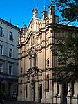 Synagoga Tempel na ulicy Miodowej w Krakowie.<br /> Tempel Synagogue on Miodowa Street in Krakow.