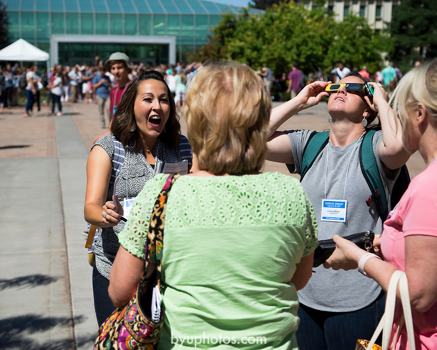 1708-56 344<br /> 1708-56 Solar Eclipse on Campus<br /> <br /> Solar Eclipse on Campus<br /> <br /> <br /> August 21, 2017<br /> <br /> Photography by Madeline Mortensen/BYU<br /> <br /> &copy; BYU PHOTO 2011<br /> All Rights Reserved<br /> photo@byu.edu  (801)422-7322