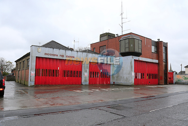 The former Drogheda Fire station in Scarlet Street<br /> Picture www.newsfile.ie