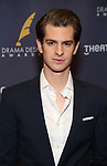 Andrew Garfield during the arrivals for the 2018 Drama Desk Awards at Town Hall on June 3, 2018 in New York City.