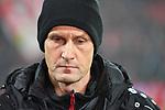 12.01.2018, BayArena, Leverkusen , GER, 1.FBL., Bayer 04 Leverkusen vs. FC Bayern M&uuml;nchen<br /> im Bild / picture shows: <br /> Heiko Herrlich Trainer (Bayer Leverkusen),<br /> <br /> <br /> Foto &copy; nordphoto / Meuter