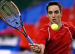 Tenis, Gemax OPEN 2008.Viktor Troicki Vs. Robert Smeets (AUS).Beograd, 15.02.2008..foto: Srdjan Stevanovic
