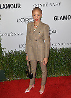 LOS ANGELES, CA. November 14, 2016: Model Adwoa Aboah at the Glamour Magazine 2016 Women of the Year Awards at NeueHouse, Hollywood.<br /> Picture: Paul Smith/Featureflash/SilverHub 0208 004 5359/ 07711 972644 Editors@silverhubmedia.com