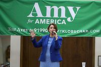 Las Vegas, NV - FEBRUARY 15: Amy Klobuchar Early vote kick off rally at Sun City Summerlin Desert Vista Community Center in Las Vegas, Nevada on February 15, 2020.     <br /> CAP/MPI/DAM<br /> ©DAM/MPI/Capital Pictures