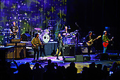FORT LAUDERDALE, FL - NOVEMBER 07: Warren Ham, Steve Lukather, Gregg Bissonette, Ringo Starr, Richard Page and Todd Rundgren of Ringo Starr & His All-Starr Band perform at The Parker Playhouse on November 7, 2017 in Fort Lauderdale Florida. Credit Larry Marano © 2017
