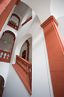 Europe/Allemagne/Bade-Würrtemberg/Heidelberg: Ancienne Université - l'escalier