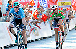 Race leader Sam Bennett (IRL) Bora-Hansgrohe wins Stage 3 of the Presidential Cycling Tour of Turkey 2017 running 128.6km from Fethiye to Marmaris, Turkey. 12/10/2017.<br /> Picture: Brian Hodes/VeloImages | Cyclefile<br /> <br /> <br /> All photos usage must carry mandatory copyright credit (&copy; Cyclefile | Brian Hodes/VeloImages)