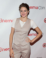 LAS VEGAS, NV - March 27: Shailene Woodley pictured arriving at 20th Century Fox Presentation at Cinemacon 2014 at Caesars Palace in Las Vegas, NV on March 27, 2014. © Kabik/ Starlitepics