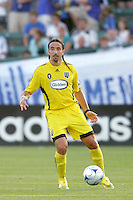 Gino Padula..Columbus Crew defeated Kansas City Wizards 2-0 at Community America Ballpark, Kansas  City, Kansas.