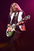 HOLLYWOOD FL - APRIL 25: Joel Hoekstra of Whitesnake performs at the Hard Rock Events Center held at the Seminole Hard Rock Hotel & Casino on April 25, 2019 in Hollywood, Florida. : Credit Larry Marano © 2019