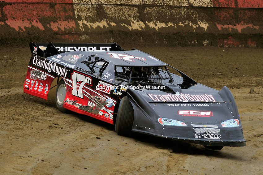 Feb 11, 2011; 11:39:07 AM; Gibsonton, FL., USA; The Lucas Oil Dirt Late Model Racing Series running The 35th annual Dart WinterNationals at East Bay Raceway Park.  Mandatory Credit: (thesportswire.net)