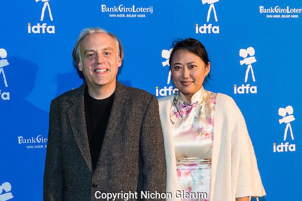 Amsterdam, 24-11-2016, IDFA International Documentary Filmfestival Amsterdam. Lola Jia Liu van de film  On the Bridge of Death and Life. Photo Nichon Glerum