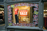 White Surf January sales window display, Ipswich