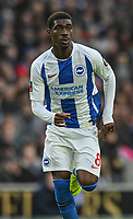 Brighton & Hove Albion's Yves Bissouma<br /> <br /> Photographer David Horton/CameraSport<br /> <br /> Emirates FA Cup Fourth Round - Brighton and Hove Albion v West Bromwich Albion - Saturday 26th January 2019 - The Amex Stadium - Brighton<br />  <br /> World Copyright © 2019 CameraSport. All rights reserved. 43 Linden Ave. Countesthorpe. Leicester. England. LE8 5PG - Tel: +44 (0) 116 277 4147 - admin@camerasport.com - www.camerasport.com