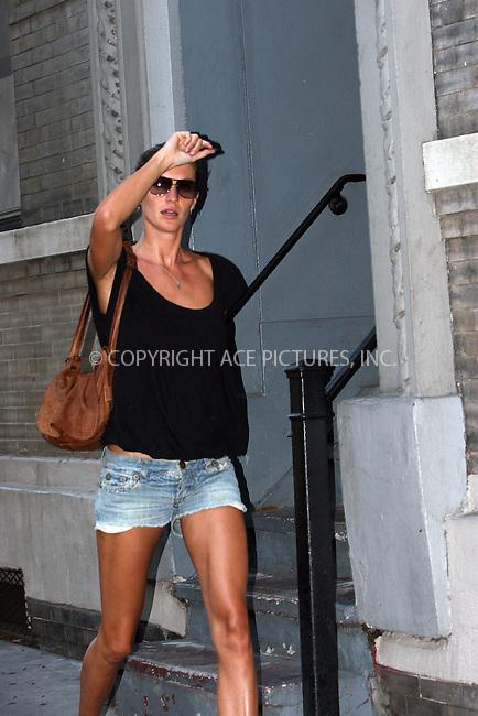 WWW.ACEPIXS.COM . . . . .  ....August 20 2008, New York City....Supermodel Gisele Bundchen was out in her West Village neighborhood with a friend on August 20 2008 in New York City....Please byline: NANCY RIVERA- ACE PICTURES.... *** ***..Ace Pictures, Inc:  ..tel: (646) 769 0430..e-mail: info@acepixs.com..web: http://www.acepixs.com