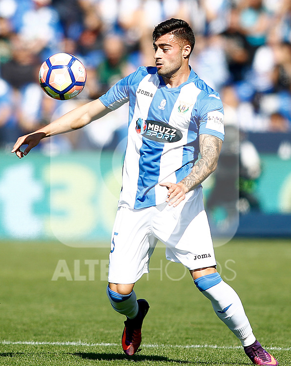 CD Leganes' Diego Rico during La Liga match. October 15,2016. (ALTERPHOTOS/Acero)