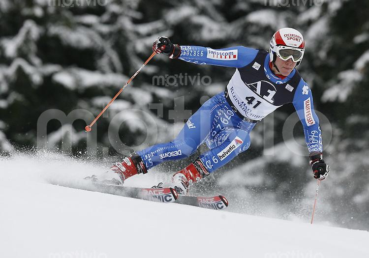 Ski Alpin Weltcup Riesenslalom in Bad Kleinkirchheim , AUT 08.12.07  Carlo Janka (SUI)