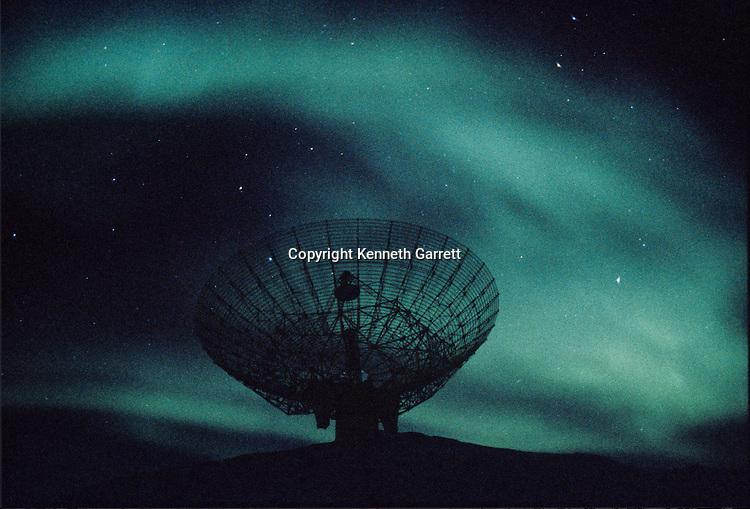Greenland, Northern Lights, Radar, astronomy