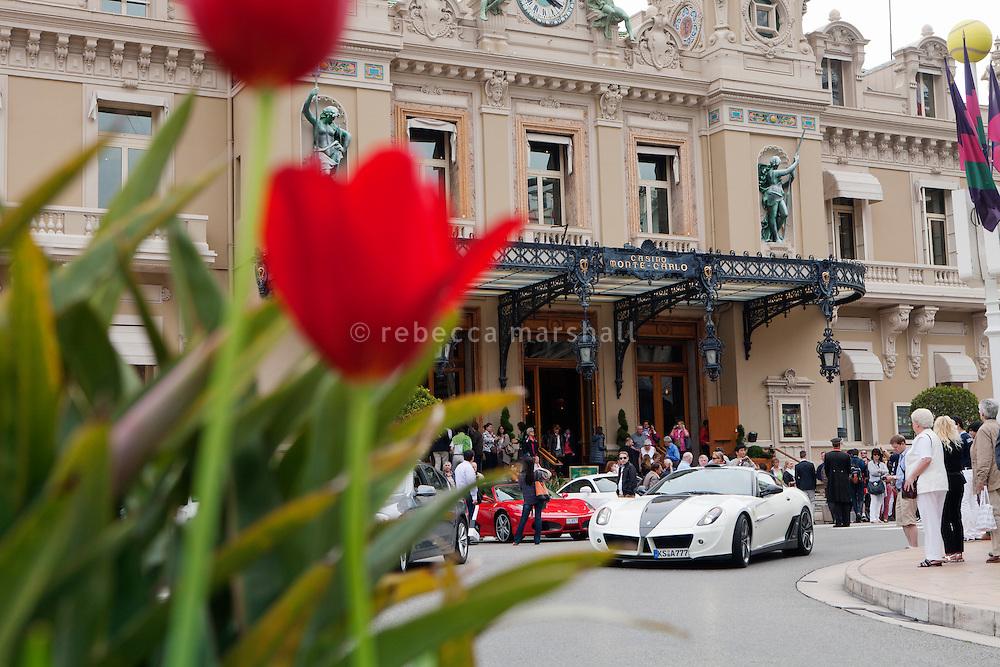 Monte Carlo Casino, Casino Square, Monte Carlo, Monaco, 19 April 2013