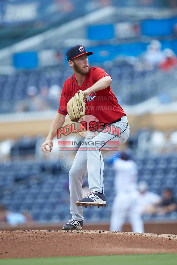 at Durham Bulls Athletic Park on June 1, 2019 in Durham, North Carolina. The Bulls defeated the Clippers 11-5 in game one of a doubleheader. (Brian Westerholt/Four Seam Images)