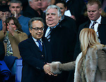 Everton owners Farhad Moshiri and Bill Kenwright during the Emirates FA Cup match at Anfield. Photo credit should read: Philip Oldham/Sportimage
