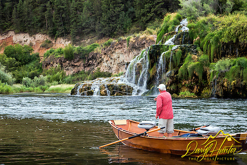 Jim Osterhout fly-fishing the South Fork