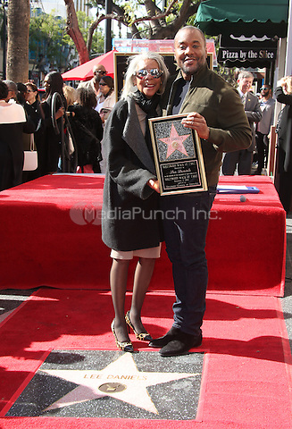"""Hollywood, CA - DECEMBER 02: Clara Watson, Lee Daniels, At Lee Daniels Honored With Star On The Hollywood Walk Of Fame"""" At Pacific Theatres at the Hollywood Walk Of Fame, California on December 02, 2016. Credit: Faye Sadou/MediaPunch"""