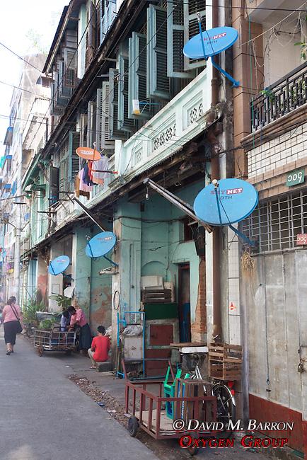 Satellite Dishes Near Gyee Zai Market