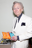***FILE PHOTO*** Tom Wolfe: Bonfire of the Vanities author dies aged 88<br /> <br /> PHILADELPHIA, PA - OCTOBER 25 :  Tom Wolfe pictured backstage at his book event for Back To Blood at the Free Library in Philadelphia, Pa on October 25, 2012  <br /> CAP/MPI/STA<br /> &copy;STA/MPI/Capital Pictures