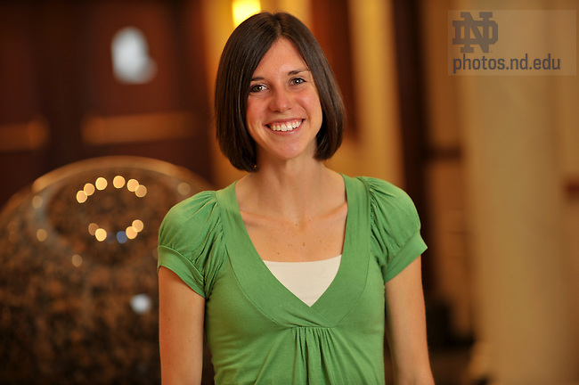 Megan Flynn for Echoes Newsletter..Photo by Matt Cashore/University of Notre Dame