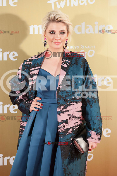 Miriam Giovanelli attends Marie Claire´s XII Fashion Prix ceremony in Madrid, Spain. November 19, 2014. (ALTERPHOTOS/Victor Blanco)