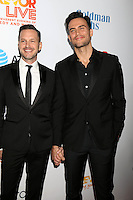 Jason Landau, Cheyenne Jackson<br /> at the TrevorLIVE Los Angeles 2016, Beverly Hilton Hotel, Beverly Hills, CA 12-04-16<br /> David Edwards/DailyCeleb.com 818-249-4998