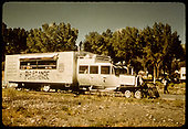 RGS Goose #7 near Ridgway depot as tourist excursion train.<br /> RGS  Ridgway, CO  Taken by Pfeiffer, Jack A. - 9/1/1951