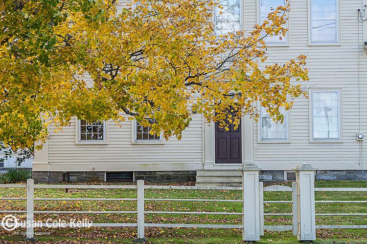 Fall foliage in Canterbury, Connecticut, USA