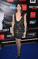 06 August 2017 - Las Vegas, NV - Caroline Williams.  Sharknado 5 Global Swarming red carpet premiere at Linq Hotel and Casino. Photo Credit: MJT/AdMedia