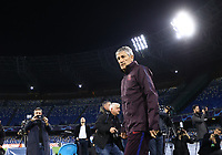 24th February 2020; Stadio San Paolo, Naples, Campania, Italy; UEFA Champions League Football, Napoli versus Barcelona, Barcelona training Quique Setién coach of Barcelona