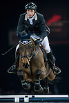 Martin Fuchs of Switzerland rides PSG Future in action during the Longines Grand Prix as part of the Longines Hong Kong Masters on 15 February 2015, at the Asia World Expo, outskirts Hong Kong, China. Photo by Victor Fraile / Power Sport Images